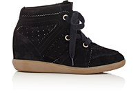 Etoile Isabel Marant Women's Bobby Wedge Sneakers Black