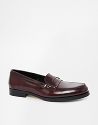 Selected Homme Penny Loafers Red
