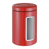 Wesco Classic Line Canister With Window 2L Red