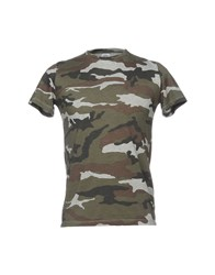 S.O.H.O New York Soho T Shirts Military Green