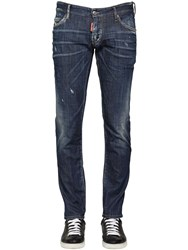Dsquared 15Cm Crotch Packo Stretch Denim Jeans
