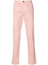 Zadig And Voltaire Partrick Chinos Pink And Purple