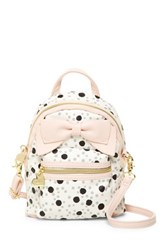 Betsey Johnson Backpack Crossbody Pink