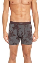Saxx Platinum Boxer Briefs Botanical