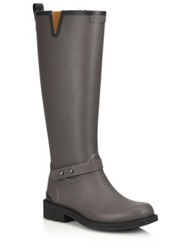 Rag And Bone Riding Rain Boots Grey