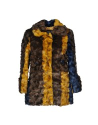 Frankie Morello Coats And Jackets Faux Furs