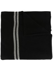James Perse Cashmere Oversized Striped Scarf 60