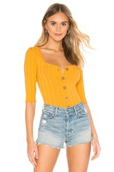 Free People Central Park Cardi Mustard