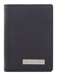 Love Moschino Credit Card Holder Black