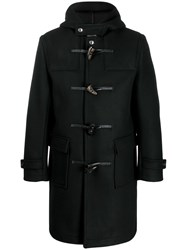 Mackintosh Mid Length Duffle Coat Black