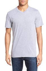 Velvet By Graham And Spencer Men's 'Samsen' V Neck T Shirt Chervil