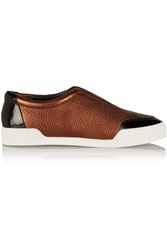 3.1 Phillip Lim Morgan Paneled Suede And Leather Sneakers