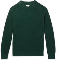 Bellerose Cotton Sweater Green