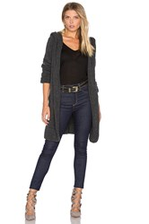 Inhabit Drape Cardigan Charcoal