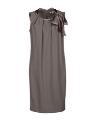 Gossip Short Dresses Grey
