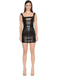 Dsquared Cutout Lambskin Dress