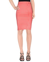 Relish Skirts Knee Length Skirts Women Red