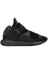 Y 3 Lace Up Sneakers Black