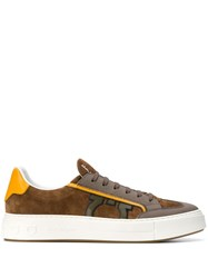 Salvatore Ferragamo Borg 5 Sneakers Brown