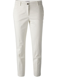 7 For All Mankind Cropped Slim Fit Trousers