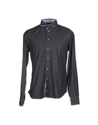 Reddie Denim Shirts Steel Grey