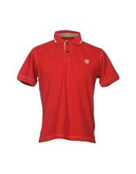 Armata Di Mare Polo Shirts Red
