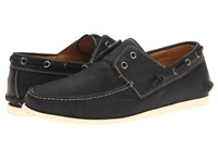 John Varvatos Schooner Boat Black Men's Slip On Shoes