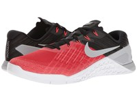 Nike Metcon 3 University Red Wolf Grey Black White Men's Cross Training Shoes
