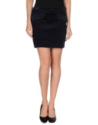 Tommy Hilfiger Mini Skirts Dark Blue