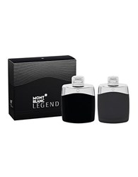 Montblanc Legend Eau De Toilette Set No Color