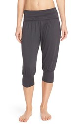 Women's Free People 'Genie' Crop Pants Charcoal
