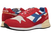 Diadora I.C. 4000 Premium Pompeian Red Nautical Blue Athletic Shoes