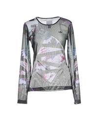 Adidas X Mary Katrantzou Topwear T Shirts Women Green