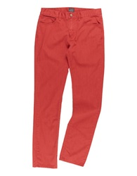 Grayers Slim Fit Slub Twill Pants Poppy Red