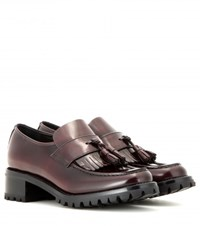 Church's Neema Patent Leather Loafers Red