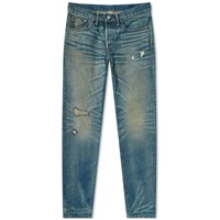 Rrl Slim Fit Jean Blue