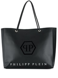 Philipp Plein Statement Tote Bag Black