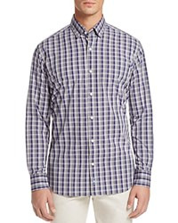 Tailorbyrd Agera Plaid Regular Fit Button Down Shirt Purple