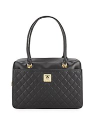 Love Moschino Quilted Handbag Black