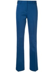 Ck Calvin Klein Polly Tailored Trousers Blue