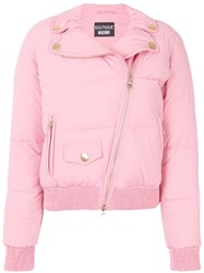 Boutique Moschino Puffer Jacket Pink