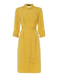 Therapy Vale Shirt Dress Mustard