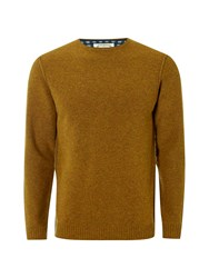 White Stuff Men's Fade Out Crew Neck Knit Yellow