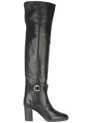 Chloe 'Lenny' Over The Knee Boots Black