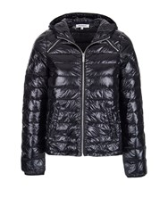 Morgan Lightweight Feather Filled Down Jacket Black