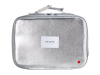 State Bags Metallic Rodgers Lunch Box Silver