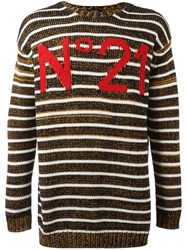 N 21 No21 Logo Jumper Black