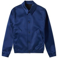 Ami Alexandre Mattiussi Unlined Snap Jacket Blue