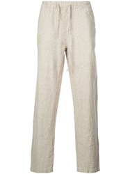 Onia Relaxed Fit Carter Trousers Neutrals