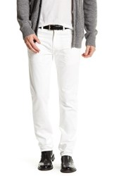 Save Khaki Slub Twill Jean 32 Inseam White